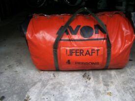 Liferaft and Sail