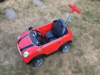 Mini Cooper Sit In Toy Car
