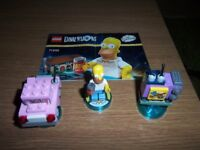 LEGO DIMENSIONS HOMER SIMPSON TEAM PACK