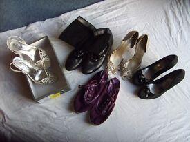 Bundle of lady's size 6 shoes