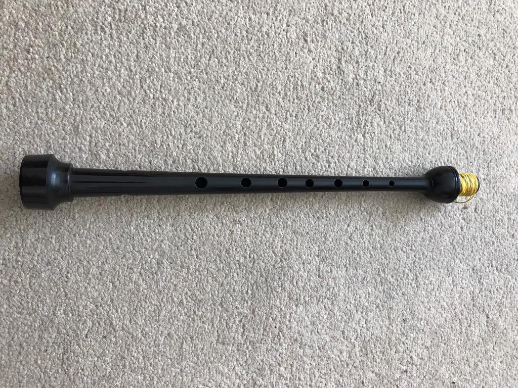Sinclair African Blackwood Pipe Chanter. Circa early 1980's.