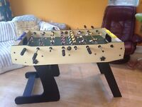 Table Football, 4ft x 2ft, Foldable