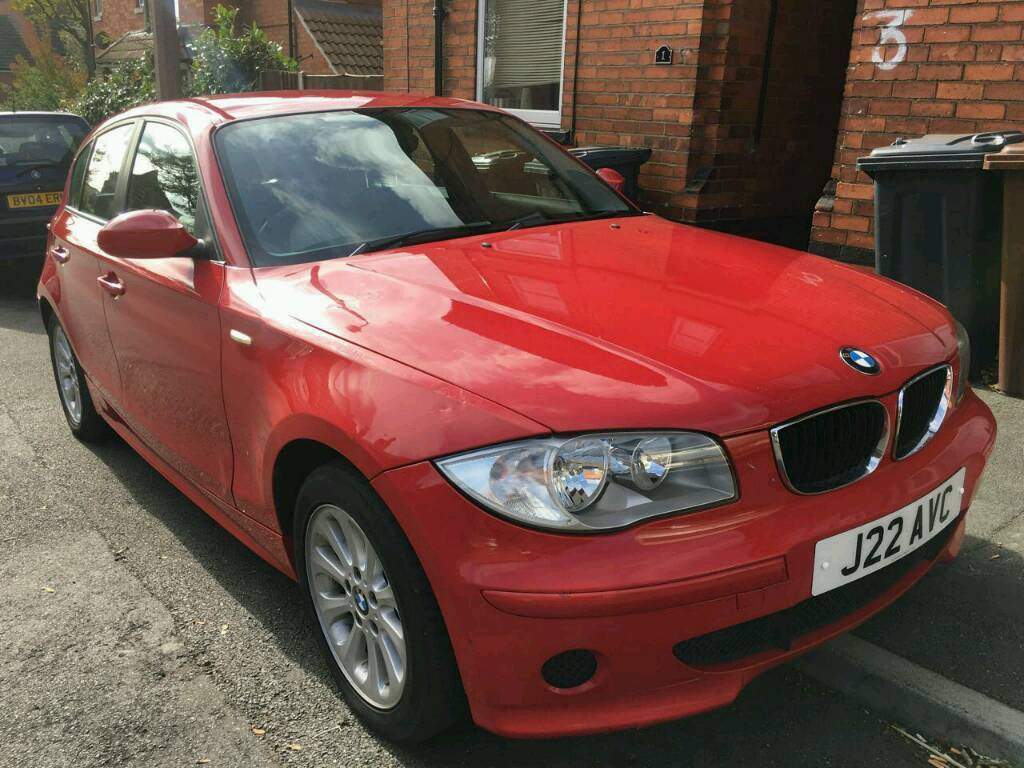 2005 Bmw 116i red 1 series