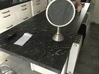 Work top marble effect