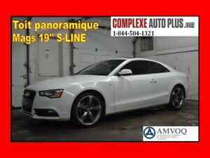 2014 Audi A5 Quattro Komfort Mags 19po S-LINE *Toit panoramique