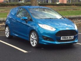 2015 FORD FIESTA 1.6 TDCI SPORT VAN * LOW MILES * DRL's * PART EX * FINANCE * DELIVERY *