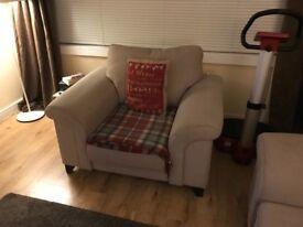Sofa with chair £2000 sofa
