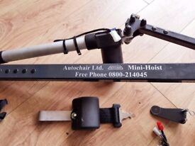 CAR HOIST MADE BY AUTOCHAIR TO FIT THE 2014 CITROEN C4 GRAND PICASSO