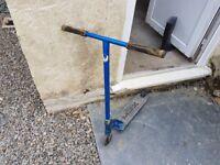 Custom scooter (phoenix bars, mfx deck, fasen raven forks