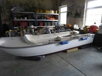 Dory Boat 14 foot 6 Inches + Trailer