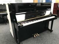 Yamaha U1 Upright Piano Black Fully Reconditoned Warranty & Stool