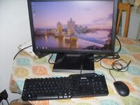 Dell Optiplex 9020 USFF i3-4130 3.40GHz 4GB 500GB Win 10 Pro 19inch Dell tft