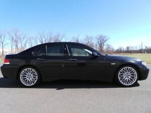 2008 BMW 7 Series 750I - SPORTS PKG - BLACK ON BLACK - LOW KM