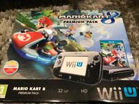 Nintendo Wii U Mario Cart Edition with All parts and accessories
