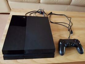 Orignal Sony Playstation 4 (PS4) 500GB Black Console - Good Working Condition