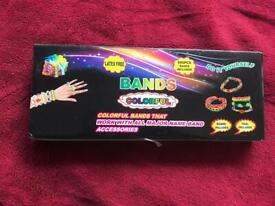 Loom bands colourful 600pcs tool included board included