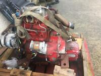 Yanmar diesel 20hp marine engine and gearbox