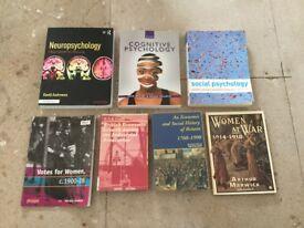 University Psychology Books