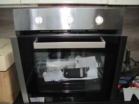 BRAND NEW CDA SG120SS Integrated Single Fan Gas Oven in Stainless Steel [Energy Class A]