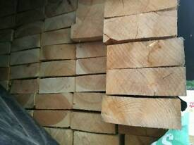 "7"" x 2 1/2"" (63mm x 175mm) Rough Sawn Timber - 6mtr Lengths"
