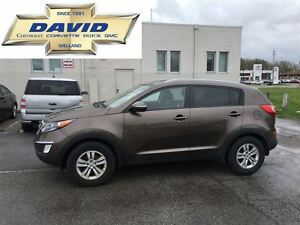 2013 Kia Sportage LX AUTO FWD, ALLYS, ST.CTRLS, LOCAL TRADE