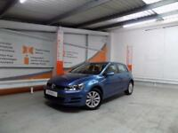 Volkswagen Golf SE TSI BLUEMOTION TECHNOLOGY DSG (blue) 2014-09-25