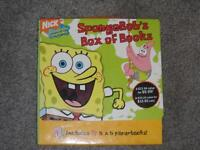 COMPLETE BOX SET OF SPONGEBOB BOOKS