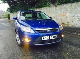 FORD FOCUS 1.6 ZETEC 2008 NEW SHAPE LOW MILEAGE MOT 10 MONTHS FULL SERVICE HISTORY