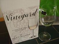Dartington Crystal 4 wine glasses