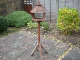 tall bird table