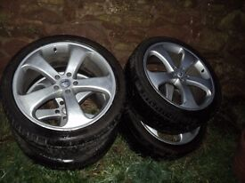"""22"""" alloys with legal tyres"""