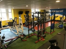 Commercial gym business on high street