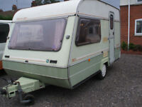touring caravans ABI MARAUDER 2 BERTH CLASSIC ,NO DAMP ,FIRST TO VEIW WILL BUY ,VERY CLEAN INDEED ,