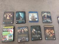 Dvds, blue ray £15 but will take lower if gone this Friday