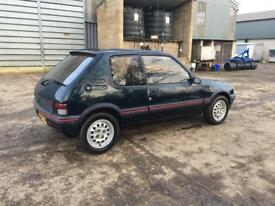 205 GTi 70k 3owners Sorrento Green Barn find, stored since 03