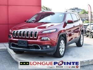 2017 Jeep Cherokee Limited 4X4 CUIR BLUTOOTH - CRUISE ADAPTIF
