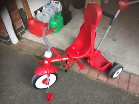 Child's Tricycle Bike - Radio Flyer (American version)