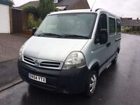 2004 NISSAN INTERSTAR 2.5 CDTI DISABLED MINIBUS SILVER 60K VERY LOW MILEAGE OVER 30 VANS IN STOCK