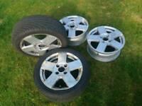 Mk6 Ford Fiesta alloys (price negotiable)
