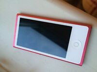 Apple iPod nano 16GB, 7th Generation - Pink | Second hand | Barely used | Perfect Condition