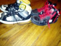 Men's skater/trainer style shoes two pairs one price!