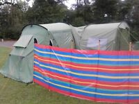 Edale 400 Tent with porch and all accesories