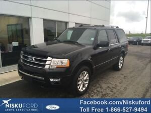 2017 Ford Expedition Limited LOADED! 2.99% Factory Financing!