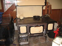 Restored Antique wood cook stove