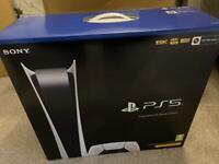 PlayStation 5 Digital - Brand new with receipt