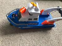 Boat toy with lights and sounds
