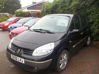 BUDGET MPV LATE 2006 RENAULT SCENIC IMMACULATE CONDITION EXCELLENT DRIVER NEW MOT ONLY £1350