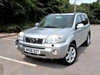 **CHEAP 2006 NISSAN X-TRAIL 2.2 DCi AVENTURA 4WD £1890*SAT NAV+LEATHER+PANROOF Turbo Diesel jeep sve