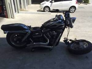 HARLEY DAVIDSON FATBOB 06/2012 MODEL 27645KMS PROJECT PARTS Campbellfield Hume Area Preview