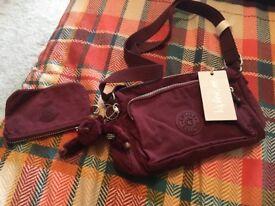 Kipling Shoulder Bag + coin purse